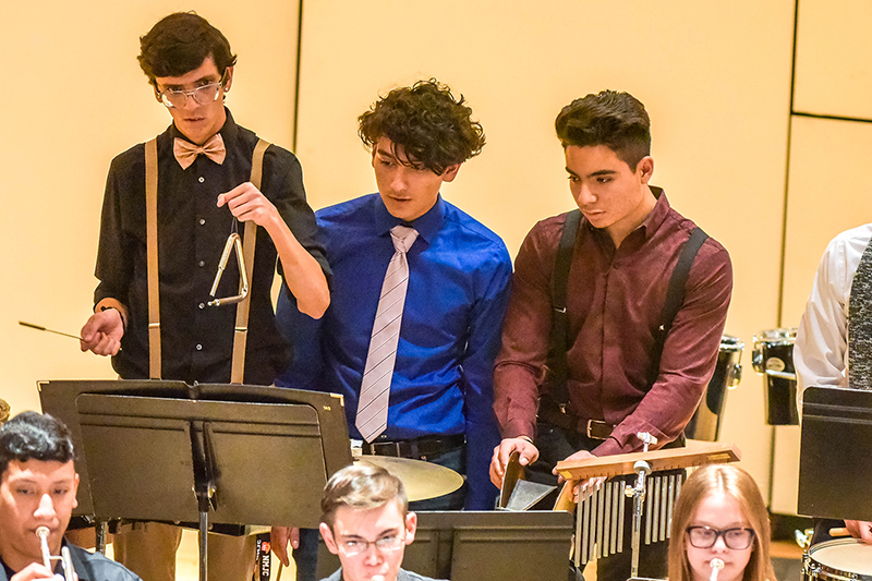 Symphonic Band Percussion Section